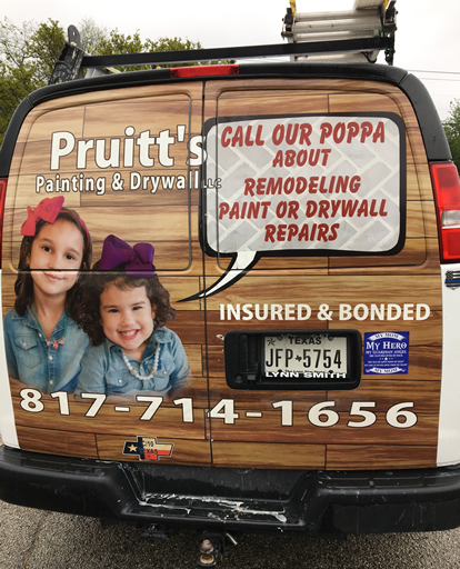 Pruitt's Paint and Drywall Services since 1996 | www.pruittspaininganddrywall.com